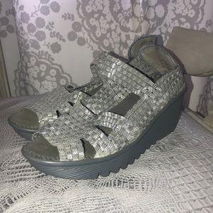 Silver Bernie Mev. Shoes